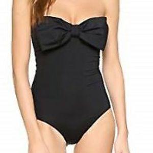 Kate Spade Georgica Beach Bow Bandeau Swimsuit